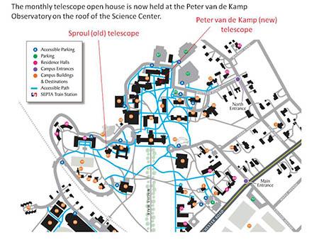 Directions To Peter Van De Kamp Observatory